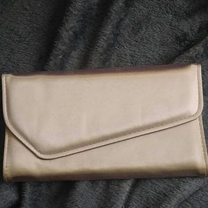 Handbags - **2 for $30** Gold envelope clutch purse